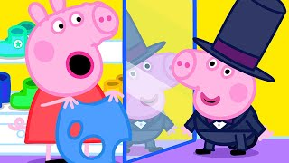 Peppa Pig Official Channel | Peppa Pig Goes Shopping to Get George New Clothes