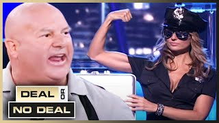 COP Takes on The Banker! 🚨 | Deal or No Deal US | Season 3 Episode 12 | Full Episodes