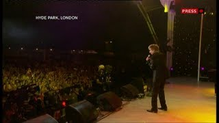 Barry Manilow, The Proms in the Park, 2009
