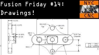 Fusion Friday #14: Drawings Tutorial