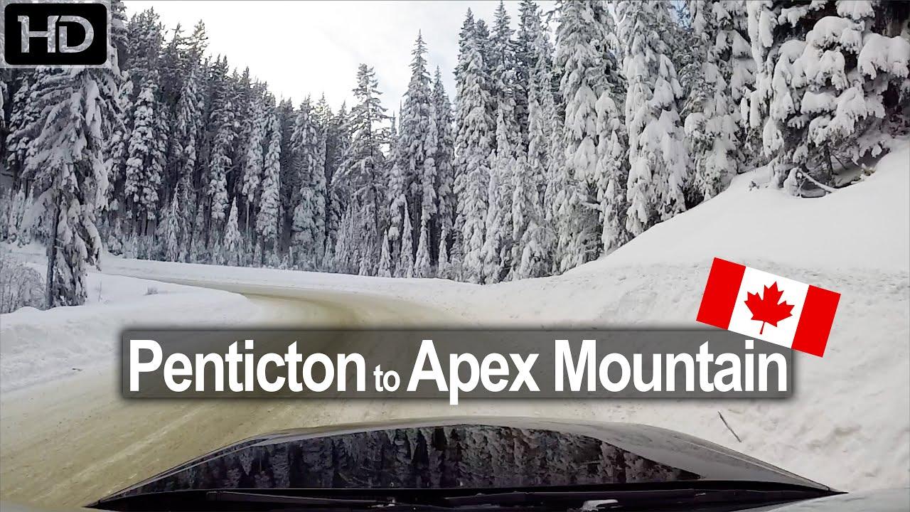 Penticton to Apex Mountain Resort – Scenic Drive BC Canada!