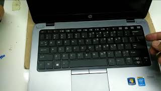 How to disassemble notebook Hp EliteBook 820