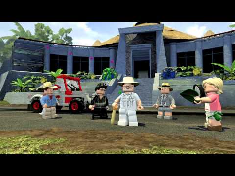 The LEGO Jurassic Park Game Looks Amazing