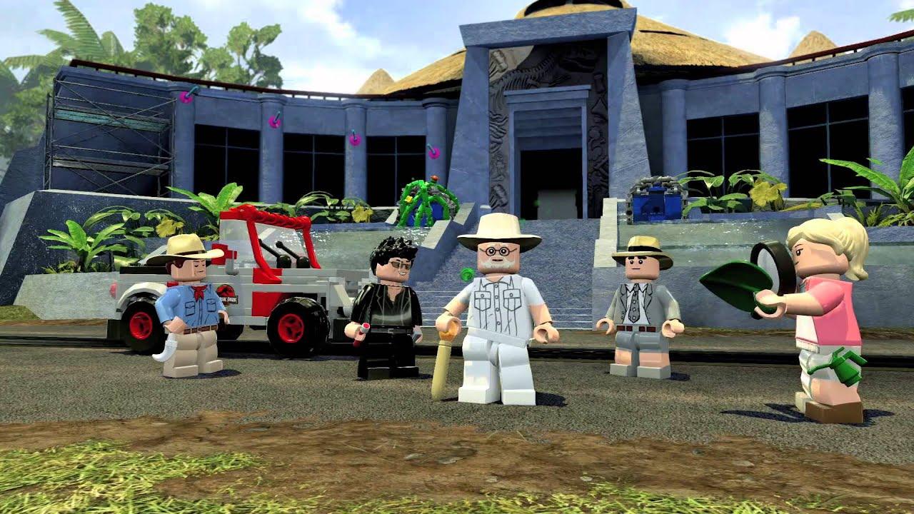 The LEGO Jurassic Park Game Looks Amazing