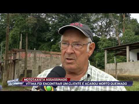 Mototaxista é assassinado em Juquitiba