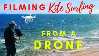 How to film Kite Surfing from a Drone
