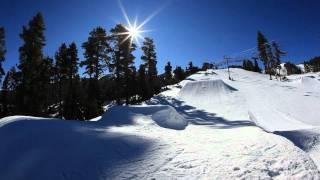 Snowboarding Big Bear Style 2012 At Bear Mountain,Ca.