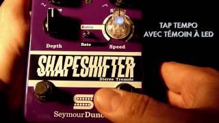 Seymour Duncan Shape Shifter Stereo Tremolo - Video
