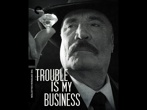 Vernon Wells Brittney Powell in Trouble Is My Business #movie #filmnoir #classicmovies