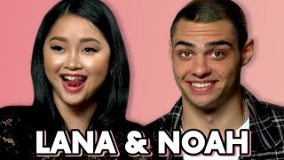 "Noah Centineo & Lana Condor's ""Awkward"" Sex Conversation 