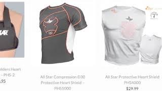 Baseball Heart Guard | Baseball Bargains
