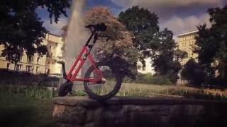 Смотреть онлайн Изобрели новый велосипед