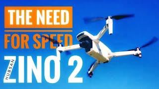 HUBSAN ZINO 2 - Speed Test (Sport Mode/Normal Mode)