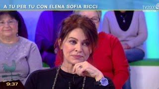 A Tu Per Tu Con Elena Sofia Ricci