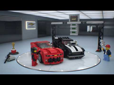 Конструктор Chevrolet Camaro Drag Race - LEGO SPEED CHAMPIONS - фото № 6