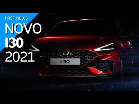 Novo Hyundai i30 2021 terá visual que impressiona