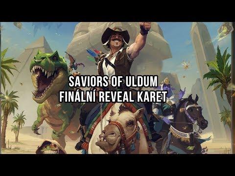 Saviors of Uldum - Finální reveal karet
