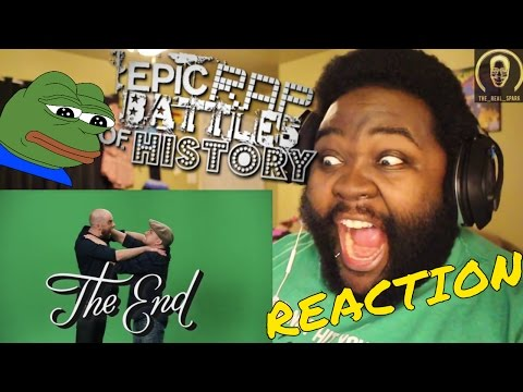 Nice Peter vs EpicLLOYD - Epic Rap Battles of History Season Finale. Reaction