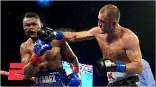 Sergey Kovalev defeats Eleider Alvarez unanimously to regain title belt | Top Rank Boxing Highlights