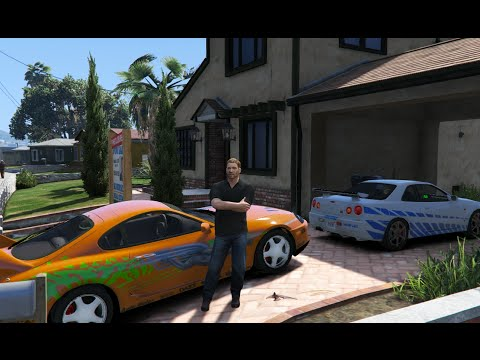 GTA V | PAUL WALKER CARS COLLECTION