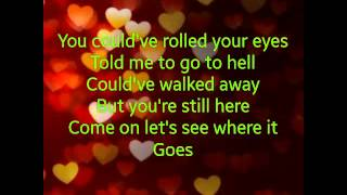 Take your time Sam Hunt Lyrics