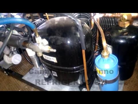 FABRICADORA DE HIELO, COMO FUNCIONA Y SE REPARA CUANDO PIERDE GAS REFRIGERANTE.