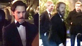 Casey Affleck Celebrates Golden Globe Win With Milo Ventimiglia And Other Celebs