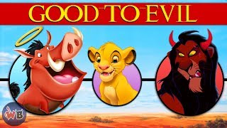 The Lion King Characters: Good to Evil
