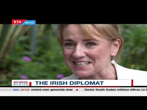 The Diplomat: Engaging the Ireland Ambassador to Kenya, Fionnuala Quinlan on Kenya-Irish relations