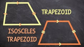What is the difference of a trapezoid and an isosceles trapezoid