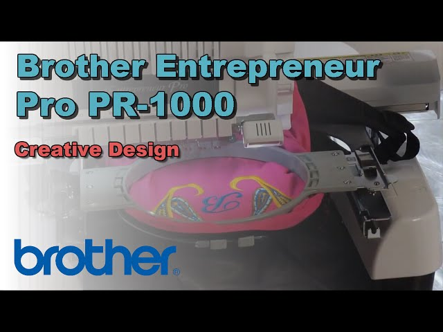 Brother Entrepreneur Pro Pr 1000 10 Needle Embroidery Machine