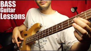 Bass Lesson 1 - Right Hand Technique - Part 1 - Beginner