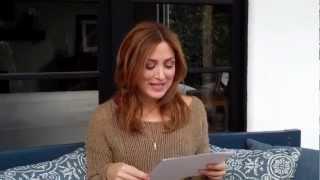 Sasha Alexander répond aux questions de ses fans sur son Whosay (28 novembre 2011)