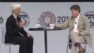 One-on-One With Christine Lagarde, Featuring Michael Lewis
