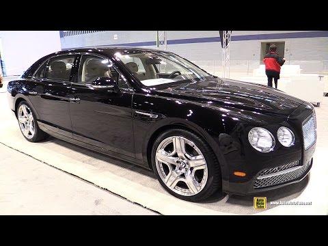 2015 Bentley Flying Spur W12 - Exterior and Interior Walkaround - 2015 Chicago Auto Show