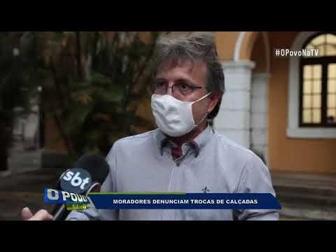 Moradores denunciam mau uso do dinheiro público em troca de calçadas no Recife