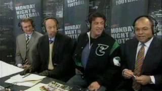 Stallone On Monday Night Football (Dec 4th 2006)
