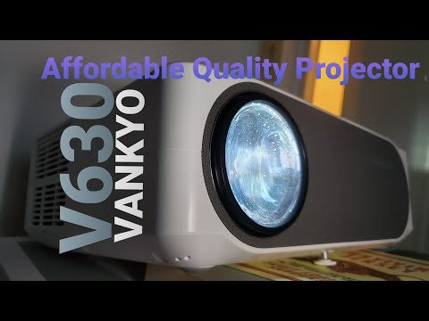 Vankyo Performance V630 Projector and 120in Screen Review