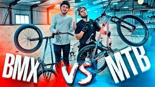 MTB vs BMX I GAME OF BIKE #6: Kostya Andreev VS Nikita Ishin