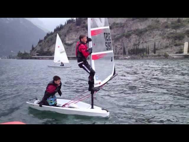 Open Bic sailing