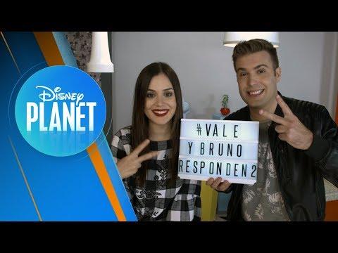 Vale y Bruno Responden #2 | Disney Planet