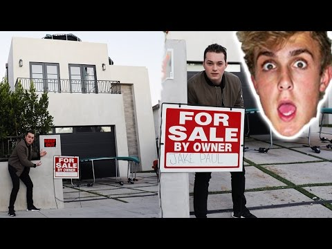 I PUT JAKE PAUL'S HOUSE UP FOR SALE! Mp3