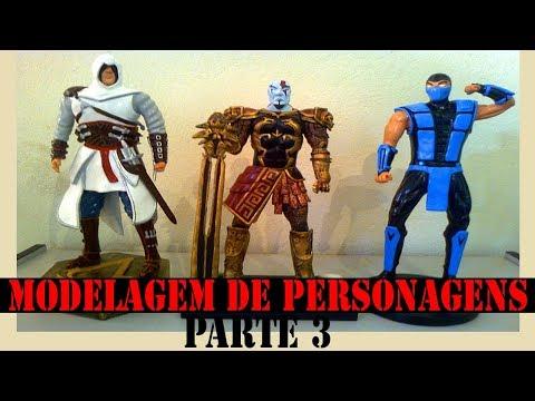 MODELAGEM DE PERSONAGENS COM MASSA (PARTE 3)