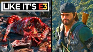 Days Gone but I Play LIKE IT'S E3 - Death Train Horde