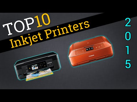 Top Ten Inkjet Printers 2015 | Best Inkjet Printers Review