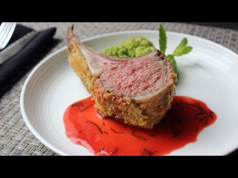 Rack of Lamb with Strawberry Mint Sauce – Easter Lamb with Strawberry Mint Sauce