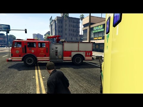 sir ne deux tons pompiers french fire service siren gta5. Black Bedroom Furniture Sets. Home Design Ideas