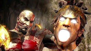 God of War 3 Kratos Destroy Hera Helios and Hephaestus