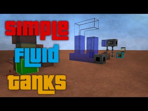 Simple Fluid Tanks - Multiblock Tanks - 1.7.10 - 1.7.2 and 1.6.4 Mod Spotlight