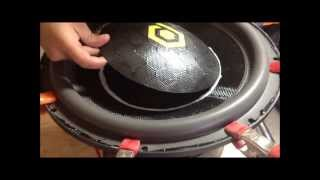 HOW TO:  Recone A Subwoofer (HDC4 15)